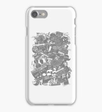 Ultimate Sherlock - Black and White Edition iPhone Case/Skin