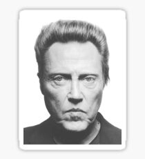 Christopher Walken Sticker