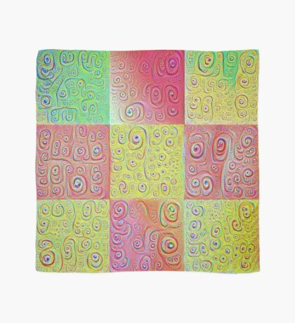 #DeepDreamed factures Scarf