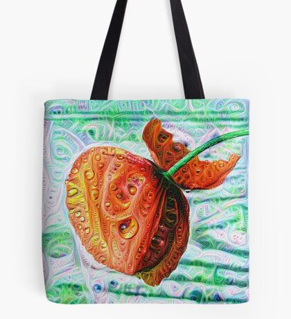 #DeepDreamed Flower 5x5K v1449147619 Tote Bag