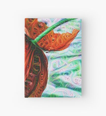 #DeepDreamed Flower 5x5K v1449147619 Hardcover Journal