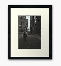 The Crosswalk Framed Print