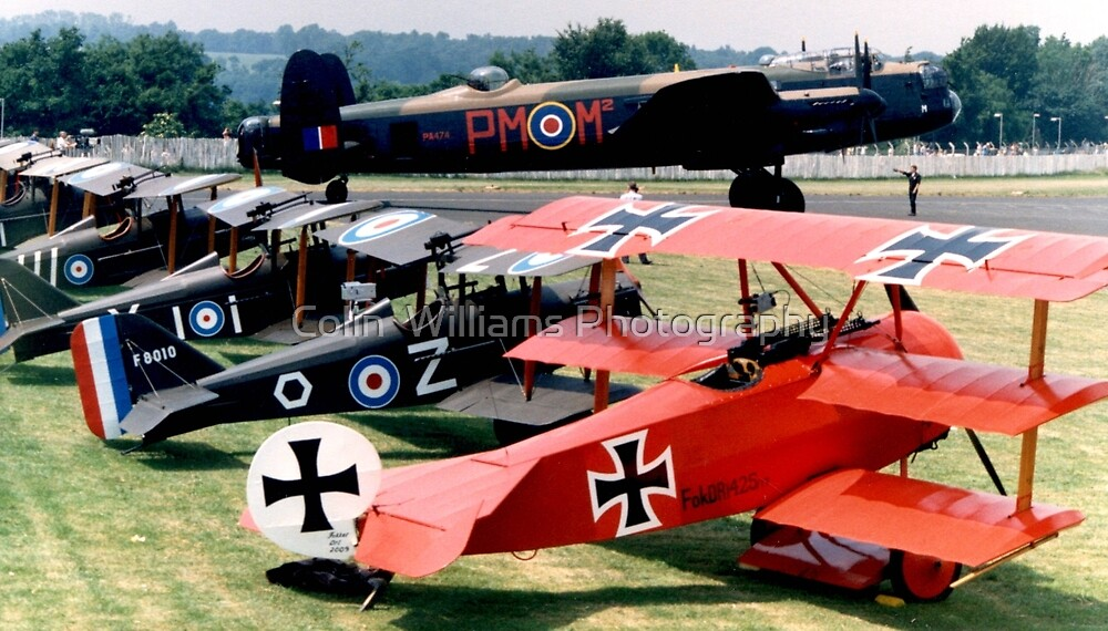 Biggin Hill in the Summer of 1992 by Colin  Williams Photography
