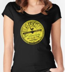 Sun Records Women's Fitted Scoop T-Shirt
