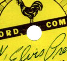 Sun Records Sticker