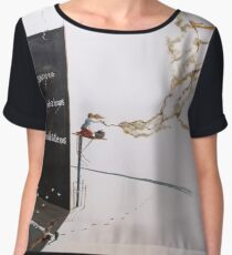 Do you feel...the invisible to the eyes Women's Chiffon Top