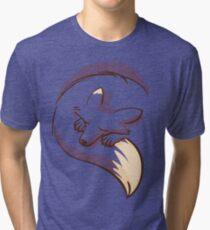 The fox is sleeping Tri-blend T-Shirt