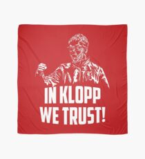 In Klopp we trust! Scarf