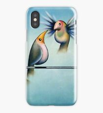 Finches On Parade - Excerpt Two iPhone Case