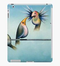 Finches On Parade - Excerpt Two iPad Case/Skin