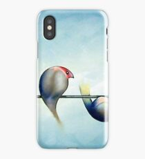 Finches On Parade - Excerpt Three iPhone Case