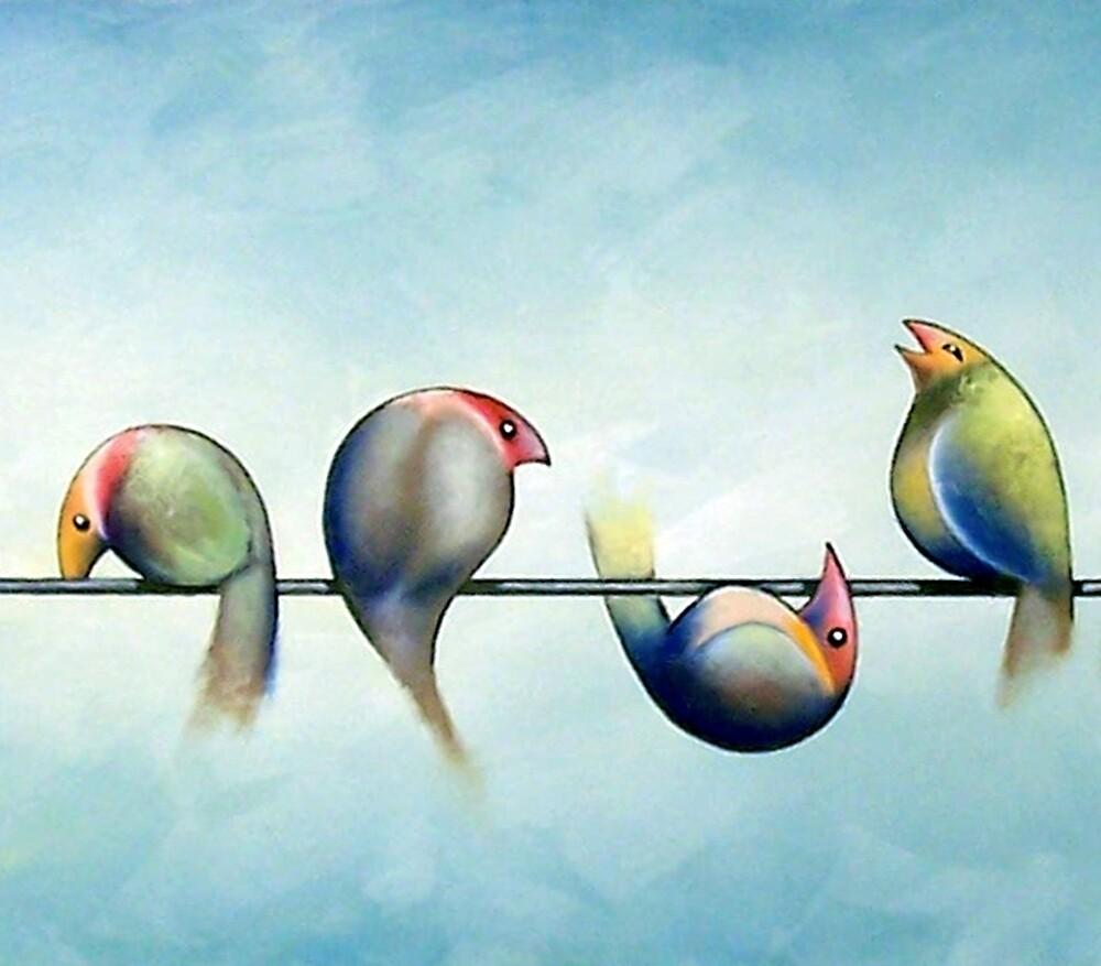 Finches On Parade - Excerpt Three by Karsten Stier