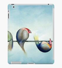Finches On Parade - Excerpt Three iPad Case/Skin