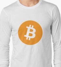 Camiseta de manga larga Bitcoin