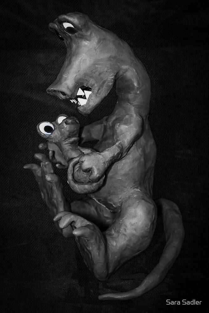 dinosaure enfant by Sara Sadler