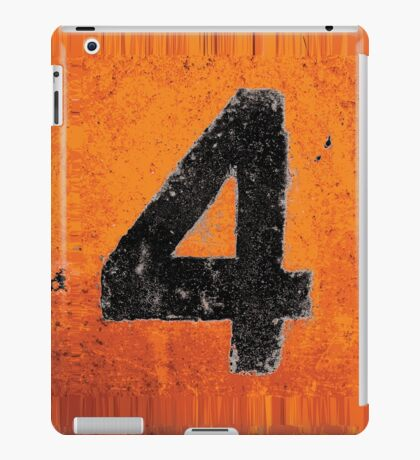 Up in Fl4mes - Black iPad Case/Skin