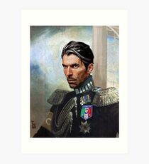 Gigi Buffon Art Print