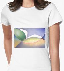 Seabird in Flight Womens Fitted T-Shirt