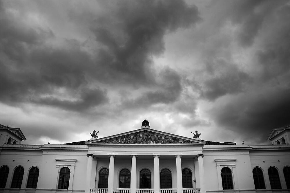 Sucre National Theater, Quito, Ecuador by Bob Ramsak