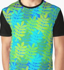 Psychedelic foliage Graphic T-Shirt