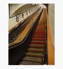 old escalator Photographic Print