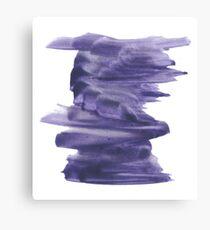 Handmade Abstract Watercolor Texture  Canvas Print