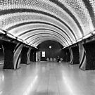 World Spiral—a Riffled Metro Station by HoremWeb