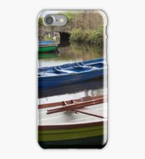 Colorful Row Boats iPhone Case/Skin