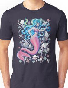 Pink Tailfin Mermaid T-Shirt