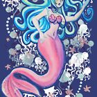 Pink Tailfin Mermaid by SaradaBoru