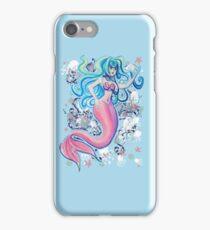 Pink Tailfin Mermaid iPhone Case/Skin