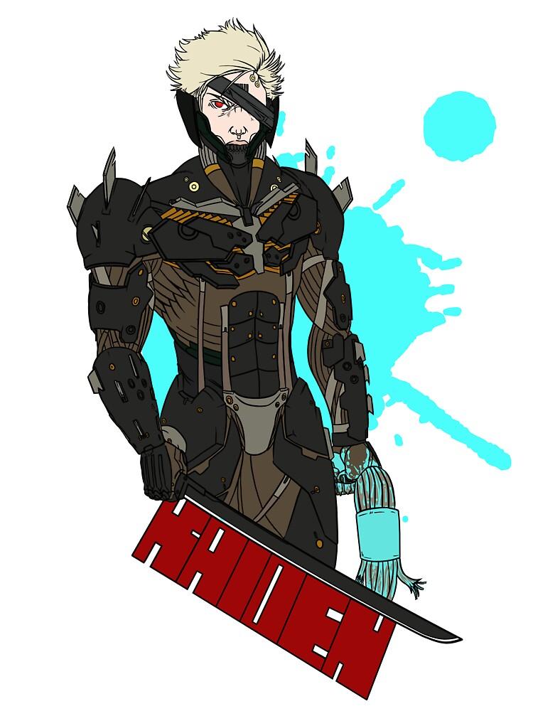 Metal Gear Rising Raiden by RexMcCoolguy