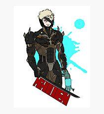 Metal Gear Rising Raiden Photographic Print
