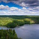 Landscape Finland by Mikko  Suhonen