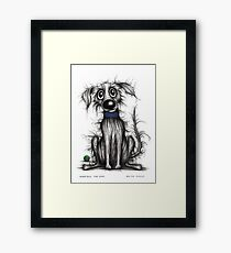 Horrible the dog Framed Print