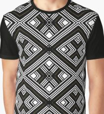 Black White Geometric Patterns T1 Graphic T-Shirt