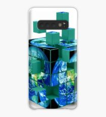 Cubes Of Earth Case/Skin for Samsung Galaxy