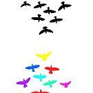 flight of the birds by red-rawlo