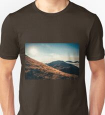 Mountains in the background XXIII Unisex T-Shirt