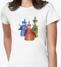 Fairy Godmothers Women's Fitted T-Shirt
