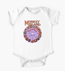 THE SECRET OF MONKEY ISLAND - DISC PASSWORD Kids Clothes