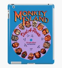 THE SECRET OF MONKEY ISLAND - DISC PASSWORD iPad Case/Skin
