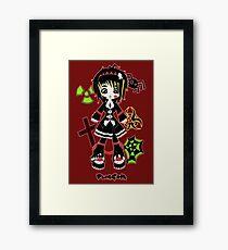 Punk Goth by Lolita Tequila Framed Print