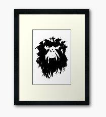 12 Monkeys - Terry Gilliam - Wall Drawing Black Framed Print