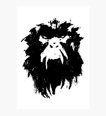 12 Monkeys - Terry Gilliam - Wall Drawing Black Photographic Print
