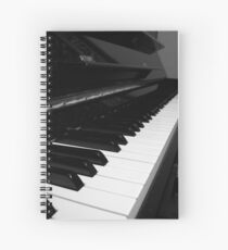 A Piano Spiral Notebook