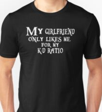 K/D Ratio, black T-Shirt