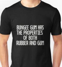 Bungee Gum Properties (White Version) T-Shirt