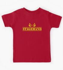 Stagehand Yellow Kids Tee