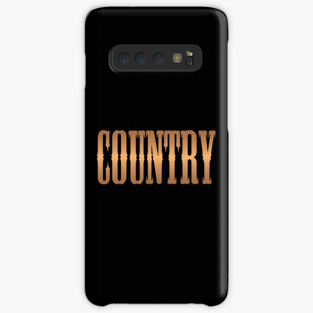 Country-Musik Kupfer Hülle & Klebefolie für Samsung Galaxy